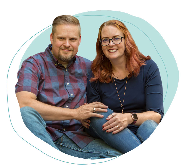 Chris and Miriam, founders of Keto Chow